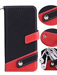 cheap -Case for Samsung Galaxy J3 J3 (2016) Case Cover The Flip Card Holder PU Leather Cases