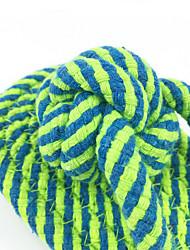 Недорогие -Игрушка для собак Игрушки для животных Жевательные игрушки Веревка Тапочки Хлопок Для домашних животных