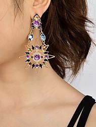 Per donna ORECCHINI Originale Pendente Di tendenza Personalizzato Euramerican Gioielli importanti Perle finte Acrilico Solari Gioielli Per