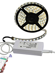 cheap -JIAWEN 5m Light Sets 300 LEDs 5050 SMD Multi Color Cuttable / APP Control 100-240 V / IP68