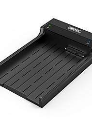 Boîte de matériel mobile unitek usb3.0 2.5 / 3.5 pouces amphibies sata3 avec puissance