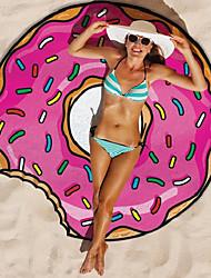 Недорогие -Пляжное полотенце Ультрафиолетовая устойчивость Цветочный принт