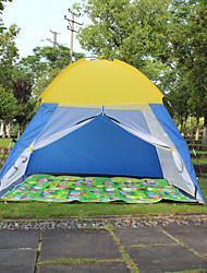 Недорогие -2 человека Световой тент Палатка с экраном от солнца Один экземляр Палатка Однокомнатная Автоматический тент Отдых и туризм