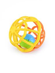 baratos -Bolas Acessório para Casa de Boneca Equipamentos Fitness de Brinquedo Brinquedos Redonda Música e luz Plásticos Bébé Peças