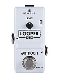 cheap -Ammoon AP-09 Nano Series Loop Electric Guitar Effect Pedal Looper True Bypass Unlimited Overdubs 10 Minutes Recording with USB Cable
