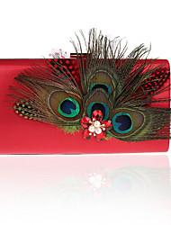 preiswerte -Damen Taschen PU Polyester Abendtasche Strass für Hochzeit Veranstaltung / Fest Formal Ganzjährig Grün Schwarz Silber Rote Violett