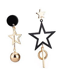 cheap -Women's Drop Earrings Acrylic Unique Design Arylic Alloy Star Jewelry For Party Birthday Party/Evening Office/Career