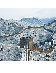 baratos -Quebra-Cabeça Quadrada Castelo Construções Famosas Arquitetura Chinesa Arquitetura De madeira Madeira Unisexo Dom
