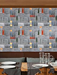 abordables -Geométrico Art Decó 3D Fondo de pantalla Para el hogar Moderno Revestimiento de pared , PVC/Vinilo Material Auto Adhesivos papel pintado,