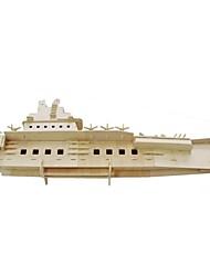 abordables -Puzzles 3D Puzzle Kit de Maquette Navire de Guerre Porte-avion Bateau 3D Simulation En bois Porte-avion Unisexe Cadeau