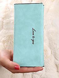 economico -Donna Sacchetti PU (Poliuretano) Porta assegni per Casual Per tutte le stagioni Ciano Blu marino Rosa