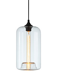 cheap -LWD Cylinder Pendant Light Ambient Light - Mini Style, 110-120V / 220-240V Bulb Not Included / 5-10㎡ / E26 / E27