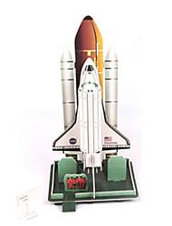 economico -Puzzle 3D Kit per costruzioni Astronave Fai da te Carta di alta qualità Classico 6 anni e sopra