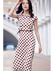 cheap -Women's Going out Daily Simple Cute A Line Dress