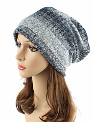 cheap -Women's Headwear Cute Chic & Modern Knitwear Cotton Beanie / Slouchy Floppy Hat - Striped Stripe