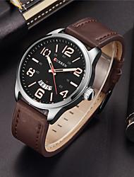 cheap -Men's Sport Watch Dress Watch Fashion Watch Wrist watch Unique Creative Watch Chinese Quartz Calendar Water Resistant / Water Proof Large