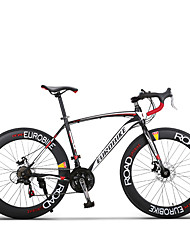 27 Speeds Road Bicicleta 700cc Road Bike70mm Width Rim Shimano Drivetrain Bend Handlebar 4 Colors