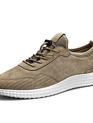 Недорогие -Муж. обувь Ткань Весна Осень Удобная обувь Спортивная обувь Беговая обувь На эластичной ленте для Атлетический Повседневные на открытом