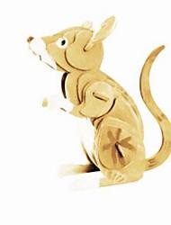 Недорогие -3D пазлы Пазлы Деревянные игрушки Животные Своими руками Дерево Натуральное дерево Универсальные Подарок