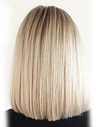 cheap -Human Hair Capless Wigs Human Hair Straight Classic High Quality Machine Made Wig Daily