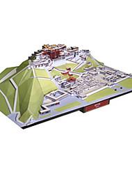 Недорогие -Набор для творчества 3D пазлы Бумажная модель Игрушки Квадратный Знаменитое здание Китайская архитектура Архитектура Своими руками Не