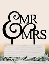 Custom English letter acrylic wedding cake decorated with cake decorated with birthday cake