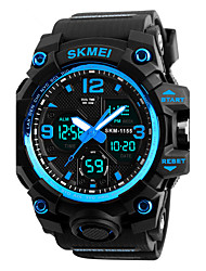 Недорогие -SKMEI Муж. Спортивные часы Армейские часы Модные часы Наручные часы электронные часы Японский Кварцевый Будильник Календарь Секундомер