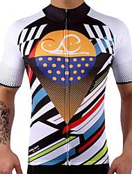 Недорогие -Велокофты С короткими рукавами Велоспорт Верхняя часть Одежда для велоспорта Быстровысыхающий Меньше трения Стреч Велосипедный спорт /