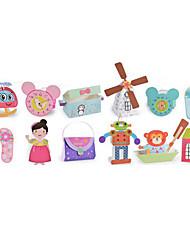 cheap -DIY KIT Paper Model Toys Paper Pieces Children's Gift