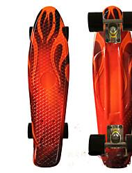 22 дюймы Стандартные скейтборды Офис ПП (полипропилен) ABEC-7-Белый Оранжевый Желтый Красный Синий