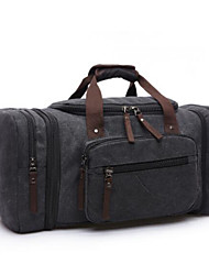 Men Bags All Seasons Canvas Travel Bag for Casual Outdoor Black Dark Blue Coffee