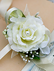 cheap -Yuxiying Wedding Wrist Corsages Rose Fiower More Coloer Wedding Accessories