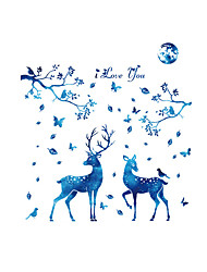 Animals Fashion Landscape Wall Stickers Plane Wall Stickers Decorative Wall Stickers,Vinyl Material Home Decoration Wall Decal
