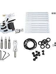 Kit de tatouage professionnel 1 machine de tatouage x alliage pour la doublure et l'ombrage 1 Machine à tatouer Encres non incluses