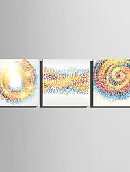cheap -E-HOME® Stretched Canvas Art Color Vortex Series Decoration Painting MINI SIZE One Pcs