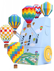 cheap -3D Puzzles Balls Paper Model Balloon Paper Craft Model Building Kit Architecture DIY Inflatable Party Classic Unisex Gift