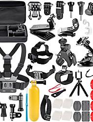 abordables -Kit Accessoires Triangle Extérieur Pliable Vissez-le Ajustable Élastique Auto-Adhésives Pour Caméra d'action Gopro 6 Tous les appareils