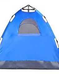 abordables -3-4 personnes Tente Tente de camping Tente automatique Garder au chaud Résistant à la poussière pour Camping / Randonnée Autre matériel CM