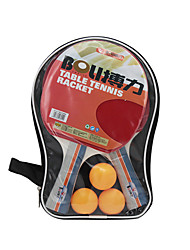 cheap -Ping Pang/Table Tennis Rackets Ping Pang/Table Tennis Ball Ping Pang Rubber Long Handle Pimples2 Rackets 3 Table Tennis Balls 1 Table