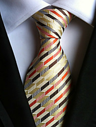 cheap -Men's Neckwear Stripes Necktie - Striped