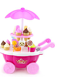 cheap -Ice Cream Cart Toy Toy Car Toy Food / Play Food Pretend Play Ship Ice Cream Simulation Plastics Plastic Girls' Kid's Gift 1pcs