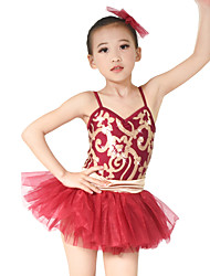 cheap -MiDee Children Dance Dancewear Children Girls Ballet Dance Dresses