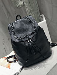 Women Bags All Seasons PU Sports & Leisure Bag for Casual Black