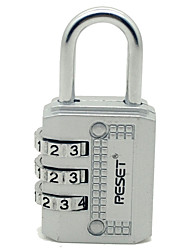 cheap -RST-071 Padlock Zinc Alloy Password unlocking for Drawer / Luggage / Gym & Sports Locker
