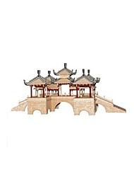 Kit de Bricolage Puzzles 3D Puzzle Jouets Bâtiment Célèbre Architecture Chinoise Architecture 3D A Faire Soi-Même Non spécifié Pièces