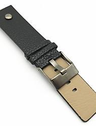 abordables -Cuero de PU Ver Banda Correa Negro Naranja Marrón 213 24cm / 9 pulgadas 2cm / 0.8 Pulgadas