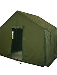 cheap -3-4 persons Cabin Tent Tent Single Camping Tent One Room Fold Tent Windproof Luggage Accessory for Camping Zinc Alloy CM