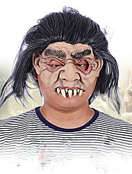 Halloween visage complet masque de grimace d'horreur mascarade costume fête mobile thème robe masque visage capuche visage