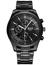 cheap -Men's Wrist Watch Alloy Band Casual / Fashion / Dress Watch Black