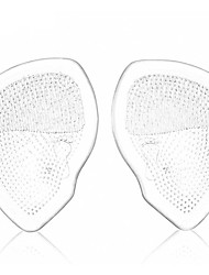 A Pair Of Medical Transparent Silicone Toe Pads Forefoot Pad High Heel Feet Gel Cushion